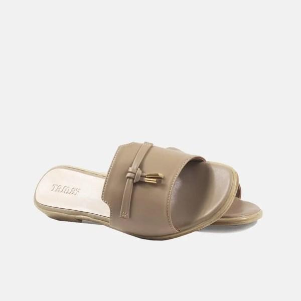 women sandal khaki