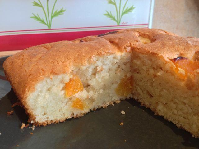 Gâteau Moelleux aux abricots (Végétal)