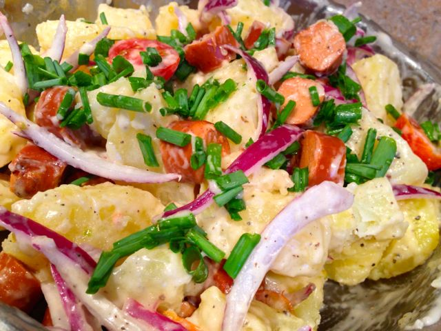 Salade Strasbourgeoise Version Végétale