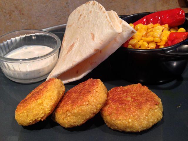 Falafels au Curry de la Vegan box