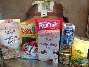 Vegan box juillet