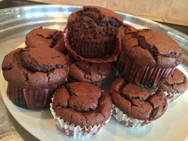 Muffins Vegan cacao