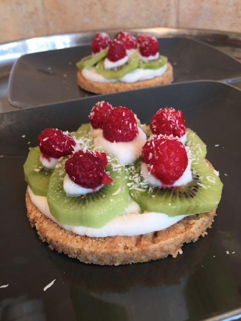 Tartelettes Coco aux fruits