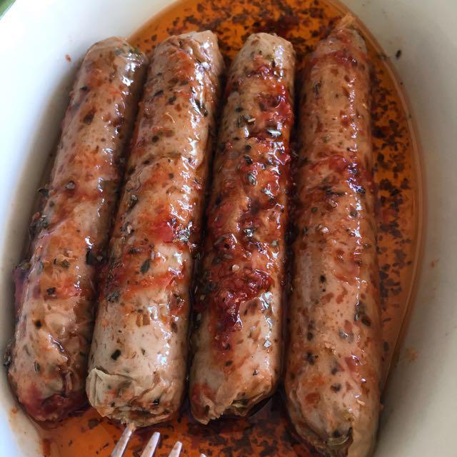 Saucisses aux herbes façon Chipos (Vegan) - Tambouille ...
