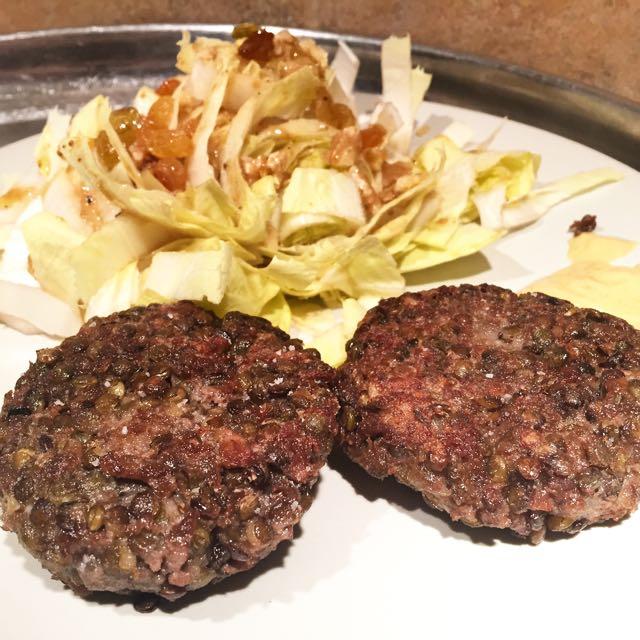 steaks lentilles soja texturé