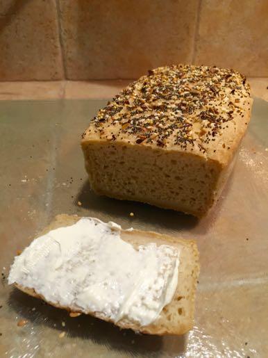 Pain sans gluten à la farine de riz