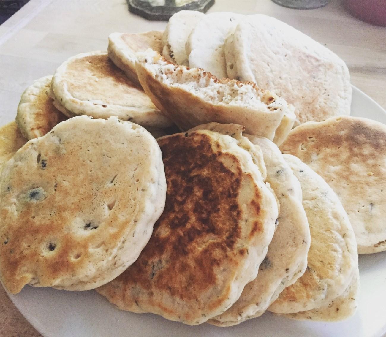 Pancakes aux olives
