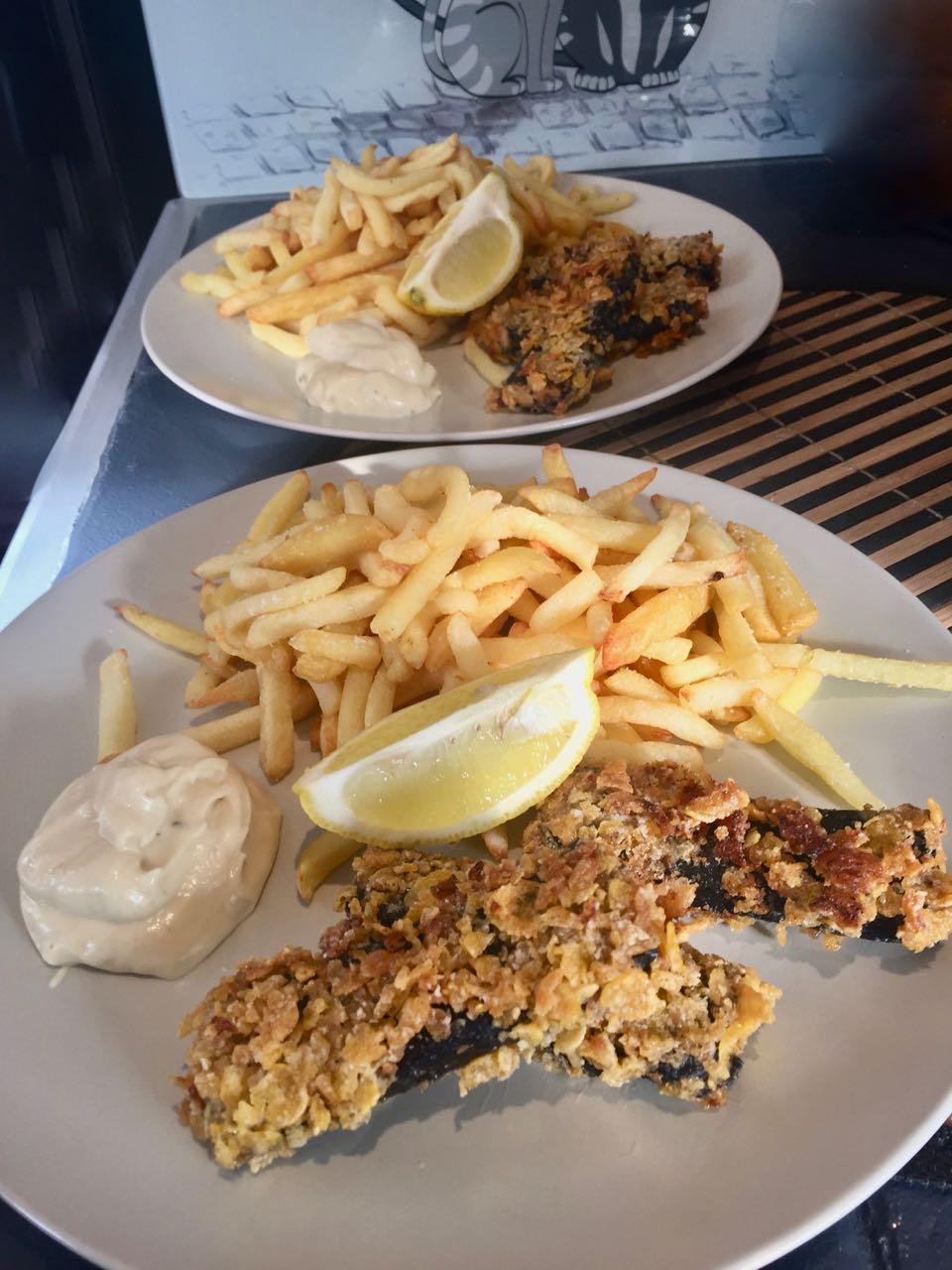 No fish & chips