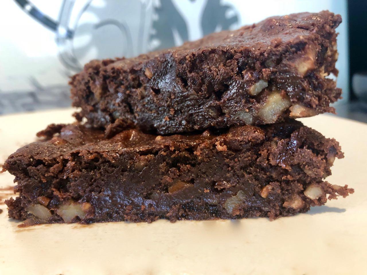 Brownie allégé en sucre