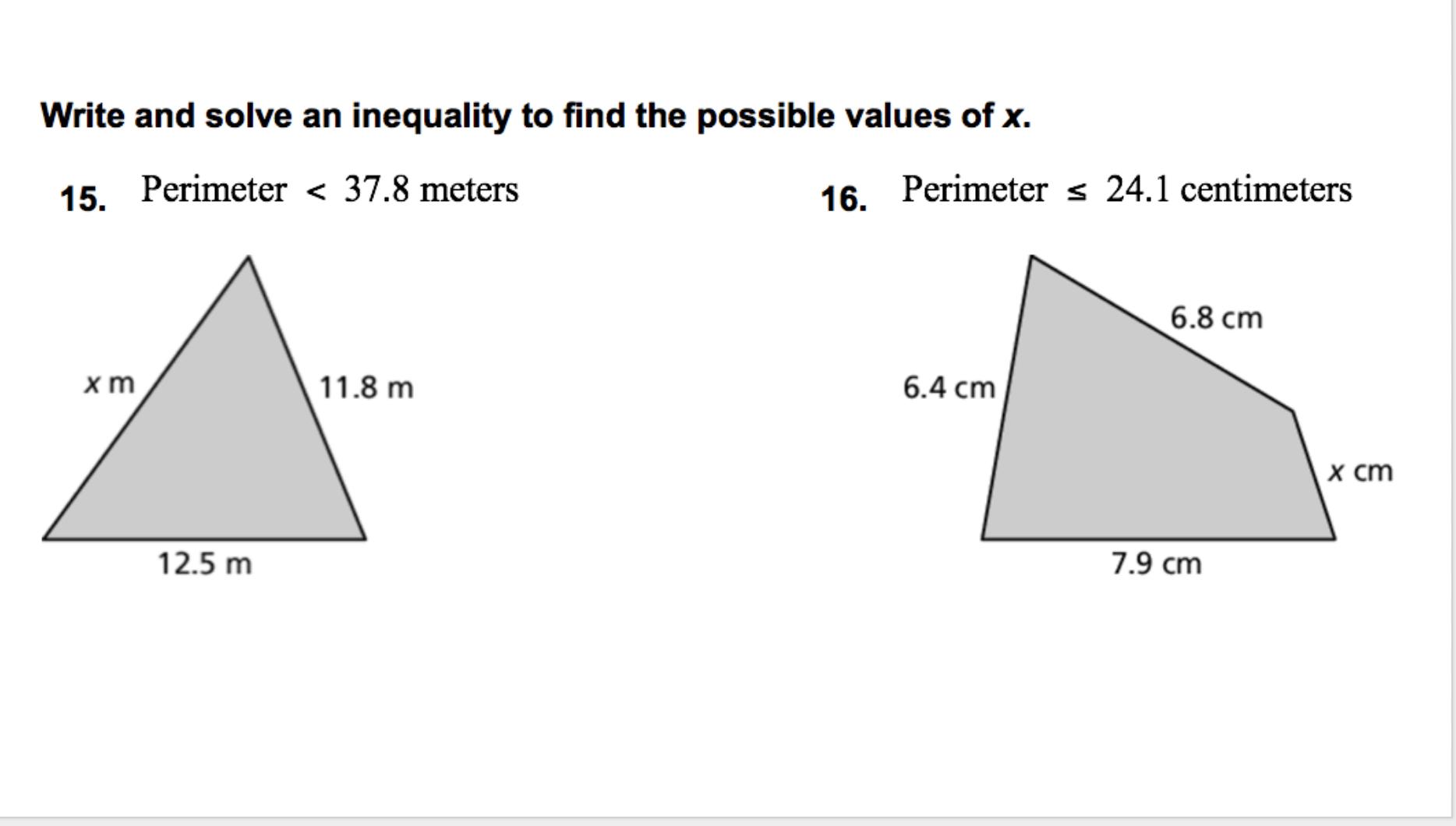 Heard, Grace / Algebra 1