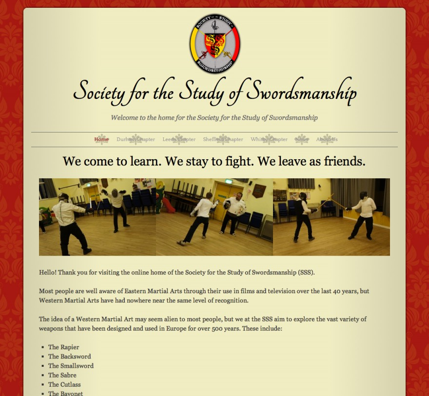 Society for the Study of Swordsmanship