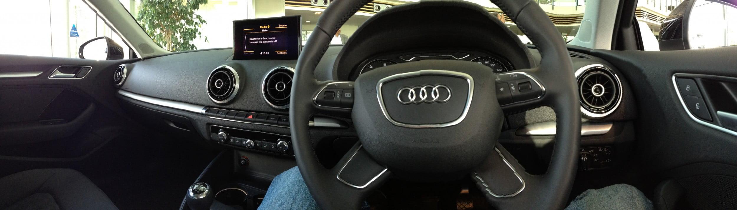 New Audi A3 Interior