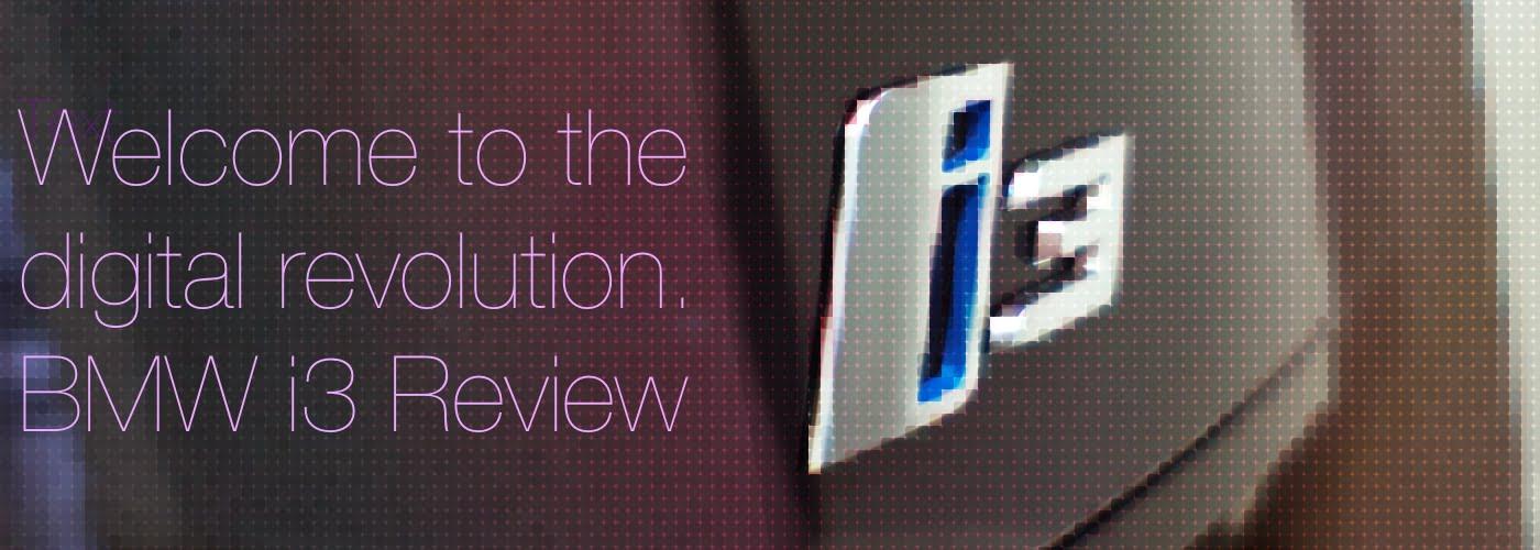 BMW i3 Banner