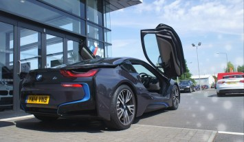 BMW i8 Review 7