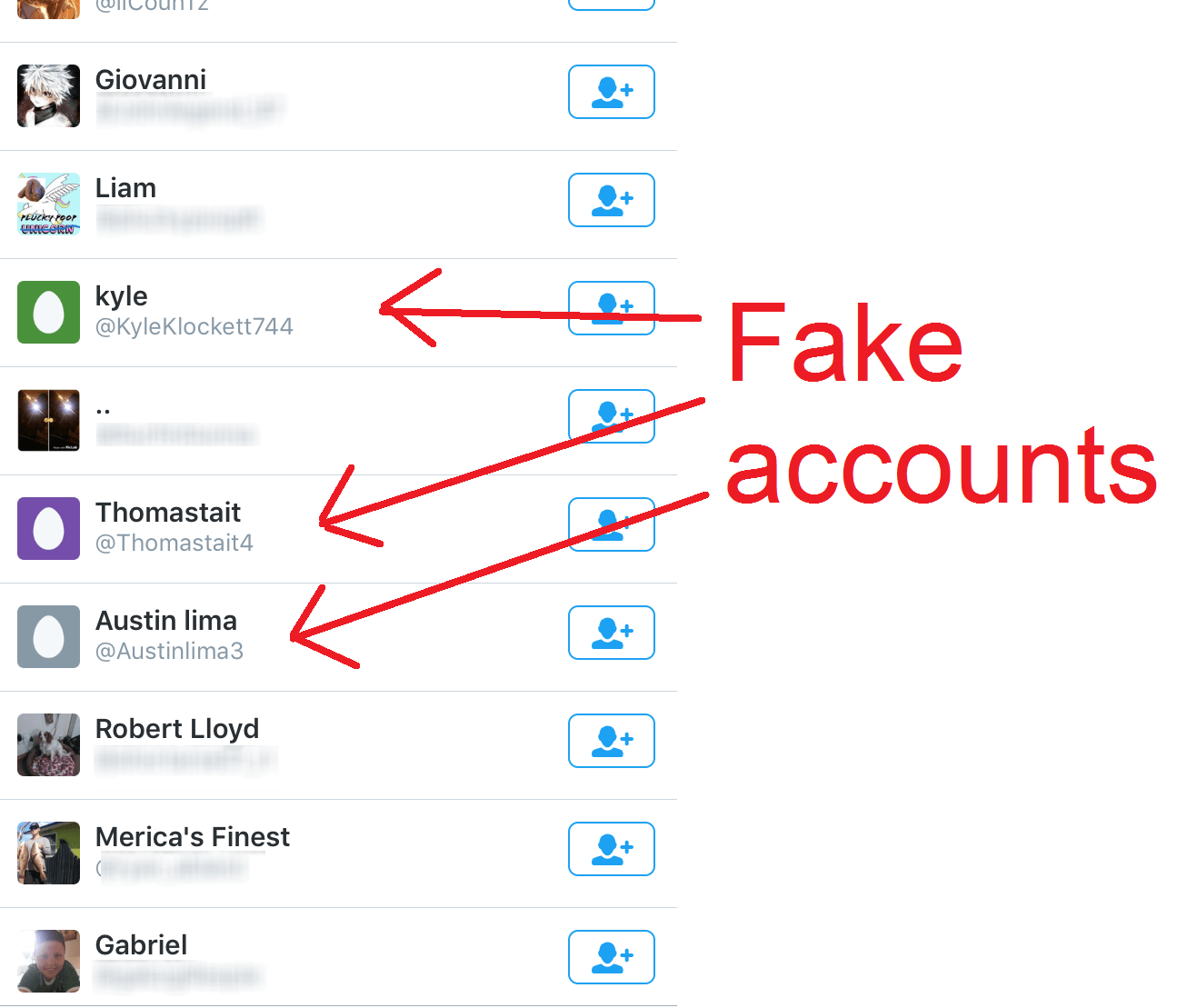how to get fake followers