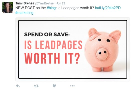 Marketing your blog on Twitter