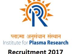 Institute for Plasma Research Engineering Recruitment