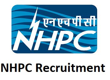 NHPC Recruitment 2017, Apply Online 13 Various Posts