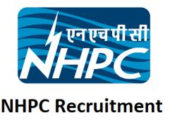 NHPC Recruitment 2017