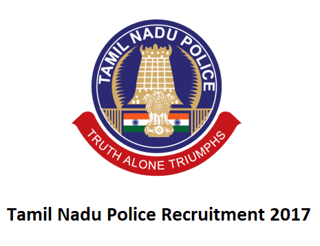 Tamil Nadu Police Recruitment 2017, Apply Online 10500 Youth Force Posts