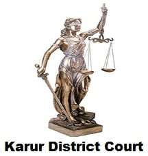 The Principal District Judge, Karur Recruitment 2017, Apply Online 75 Various Posts