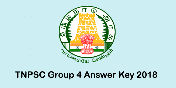 TNPSC Group 4 Answer key 2018 | Cut Off marks