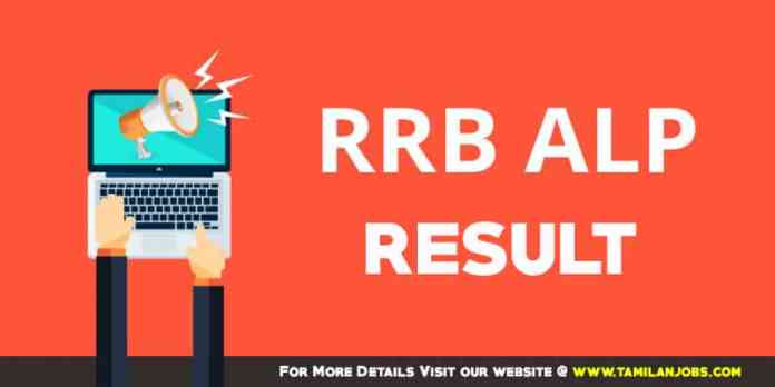 RRB Muzaffarpur ALP Technician Result 2018