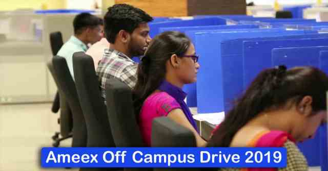 Ameex Off Campus Drive 2019