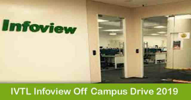 IVTL Infoview Off Campus Drive 2019