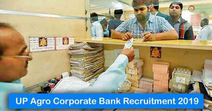 UP Agro Corporate Bank Recruitment 2020