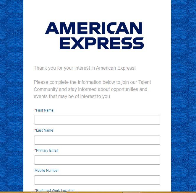 American Express Recruitment 2020 – Apply 1500+ Fresher job Openings
