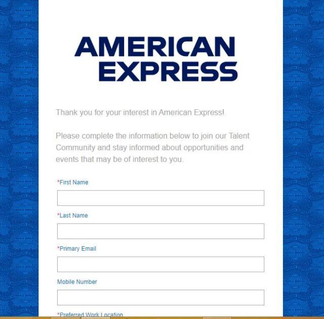 American Express Recruitment 2020 - Apply 1500+ Fresher job Openings