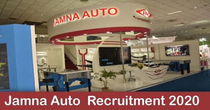 Jamna Auto Recruitment 2020: 100+ Fresher & experienced Job Openings