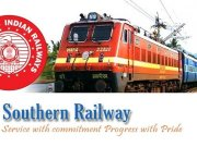 Southern Railway Apprentice Recruitment 2019