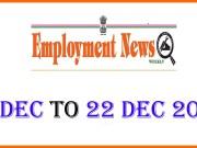 Employment News 2019