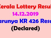 kerala lottery karunya result today 14.12.2019