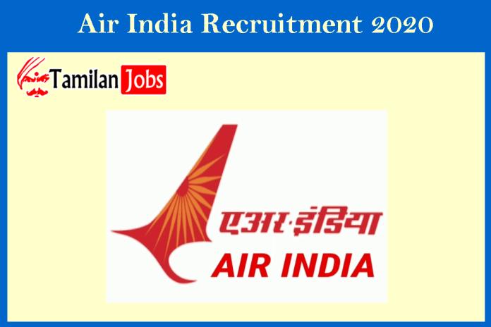 Air India Recruitment 2020 Out – Apply Executive Jobs