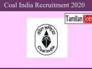 Coal India recruitment 2020