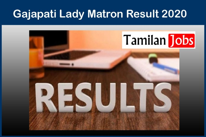 Gajapati Lady Matron Result 2020