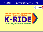 K-RIDE Recruitment 2020