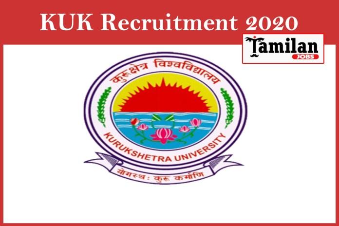 KUK Recruitment 2020