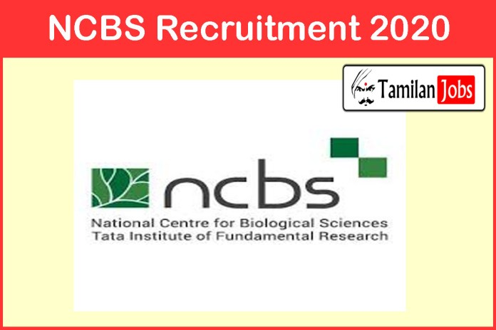 NCBS Recruitment 2020 Out – Apply Graduate Trainee Jobs