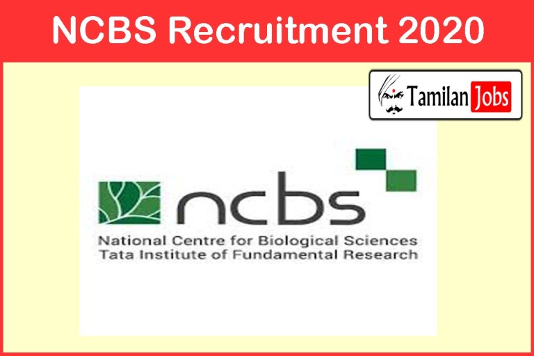 NCBS Recruitment 2020 Out – Apply Engineer (Instrumentation) Jobs