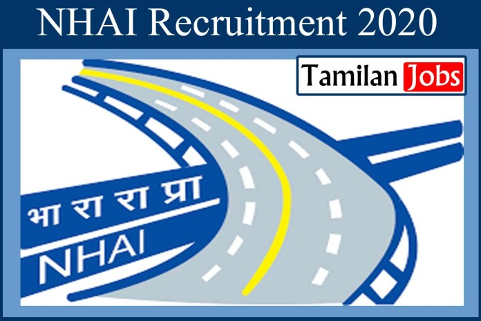 NHAI Recruitment 2020 Out – Degree Completed  Candidates Can Apply For Chief General Manager (Finance) Jobs