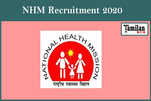 NHM Recruitment 2020