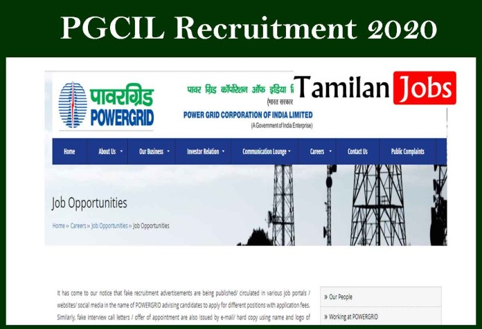 PGCIL Recruitment 2020 Out – Apply For Company Secretary Jobs