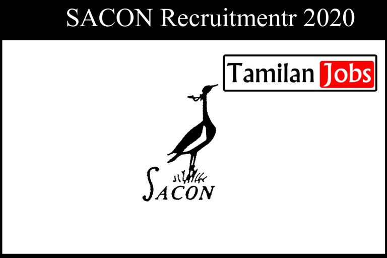 SACON Recruitment 2020 Out – Research Biologist Jobs