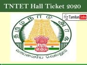 TNTET Hall Ticket 2020