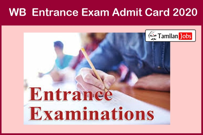 WBJEE Admit Card 2020 Released | Download @ wbjeeb.nic.in