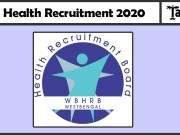 WB Health Recruitment 2020
